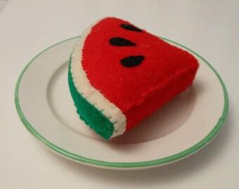 Felt Food Slice of Watermelon