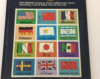 New Orleans 'Welcome' book, 1976-1977