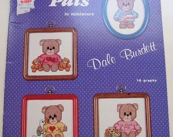 Pitiful Pals in Miniature Book Two by Dale Burdett Cross Stitch Patterns