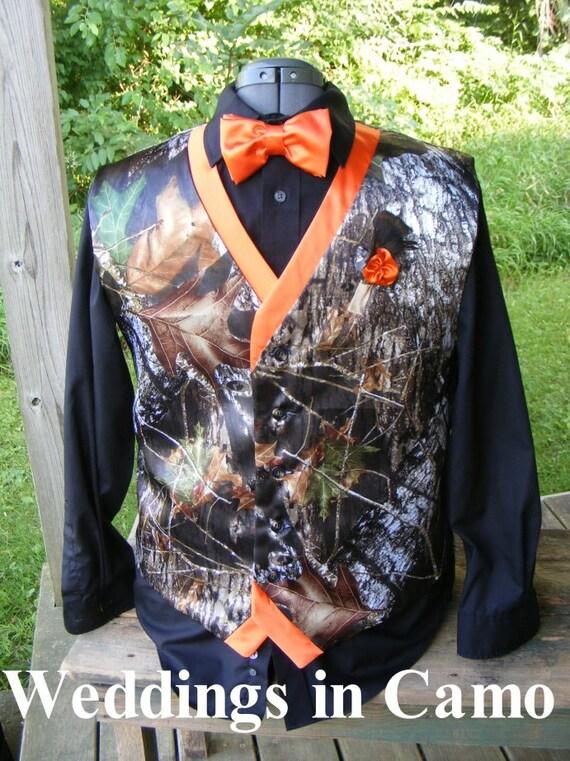 CAMO VEST camo wedding vest Two Color vest