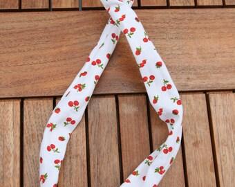 Headband wire, pattern – cherries and strawberries