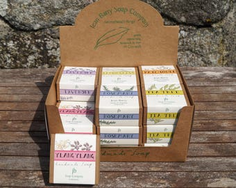Fine handmade soap, Lavender, Lemongrass, Patchouli, Rosemary, Tea Tree or Ylang Ylang