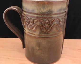 Hand built mug