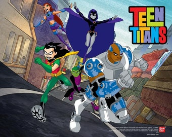 30 Teen Titans Birthday Party Favor Gift Play Dough