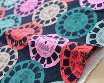 Cotton + Steel Playful Viewfinders - navy - 50cm
