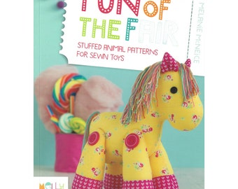 Fun of the Fair - Toy Pattern Book - Designed in Australia by Melanie McNeice of Melly & Me