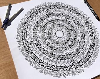 Nature Mandala - Original