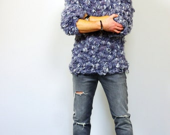 Mens Knitted Sweater Sweater