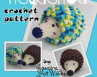Hedgehog Crochet Pattern