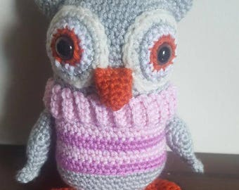 Sale-Handmade stuffed owl
