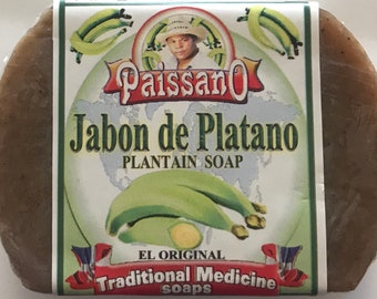 12 Handmade Plantain Soap bars (Jabón de Platano) 12 barras por solo 14.99