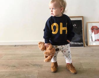 OH kids sweater