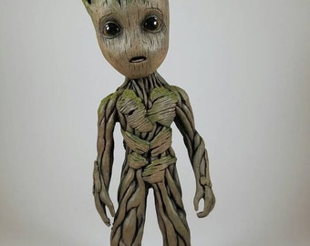 "Baby Groot life size sculpture statue 9.5"" tall (V1)"