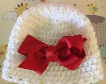 Baby girl Halloween and Christmas hat