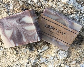Cinnamon Twist  Handmade Cold Processed Soap
