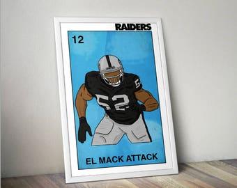 El Mack Attack Poster