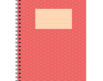 Notebook A5 - Japanese Pattern No. 2