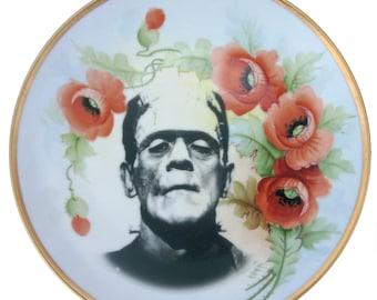 """Frankenstein Portrait Plate 8.4"""""""