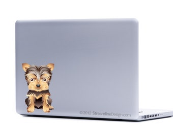 Yorkie Pomeranian Pug Your Choice Small Dog Decals | yorkie decal laptop decal macbook decal car window decal pug decal stickers for laptop