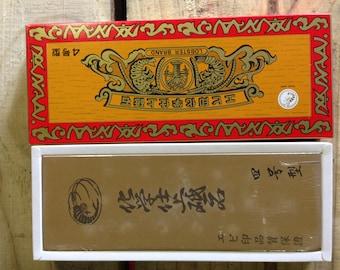 "Naniwa 4000 grit red ""lobster"" ebi stone water stone sharpening stone"