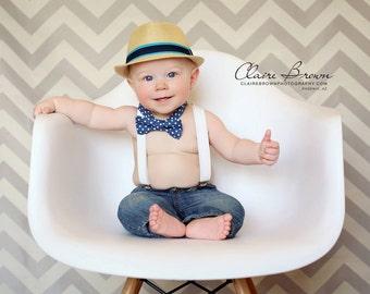 Baby Boy Bow Tie Suspenders Set, First Birthday Boy, Boys Bow Tie Suspenders, Ring Bearer Outfit, Baby Boy Suspenders, Toddler Bow Tie, Gift