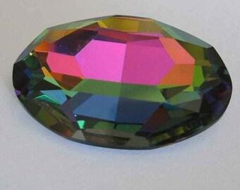 1 SWAROVSKI 4127 Sparkling Oval Crystal Fancy Stone 30mm VITRAIL MEDIUM