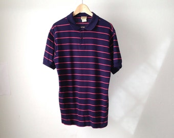 vintage 80s POLO short sleeve RUGBY style shirt