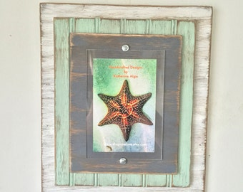 5 x 7 Distressed Handmade Picture Frame