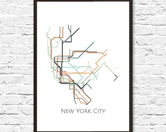 large map art new york subway new york metro map transit map