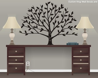Tree Wall Decal - Family Tree Vinyl - Home Decor