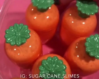 Delicious Carrot Foam Slime