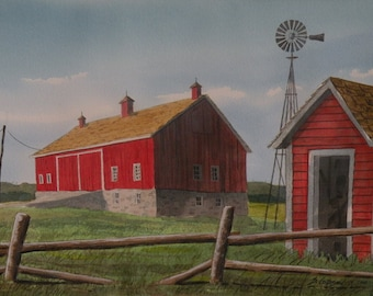 Ira Spencers Red Barns