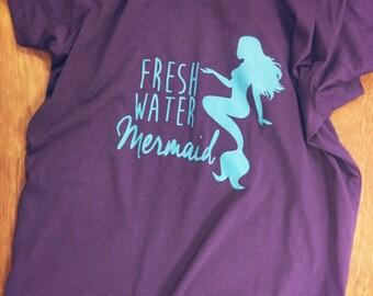 Fresh Water Mermaid Comfy Tee ATEZ030