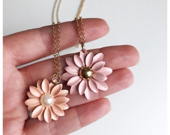Kid's Flower Necklace/ Spring Jewelry/ Easter Gifts