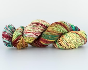 Wool Tricotcolor handdyedwool knitted crochet supply creative tricotcolor knit dye woven merino wool
