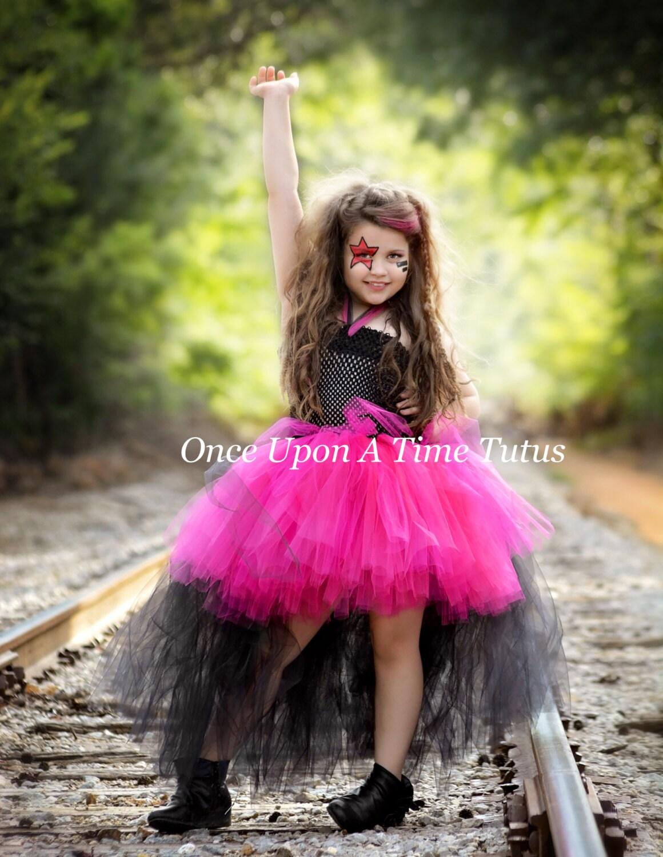 Rockstar Königin Tutu Kleid Geburtstag-Outfit Foto-Prop