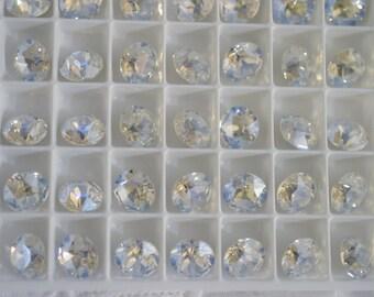 12 Moonlight 8mm SWAROVSKI ELEMENTS crystal 1088 ss39 Chatons