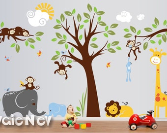 nursery wall decal etsy