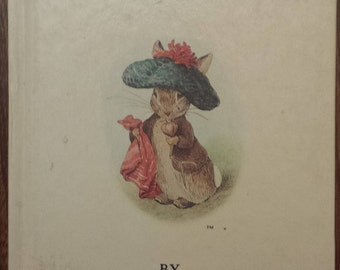The Tale Of Benjamin Bunny - The Tale Of Peter Rabbit - Beatrix Potter - Classic Vintage Hardcover Children's Books - Tale For Kids - Story
