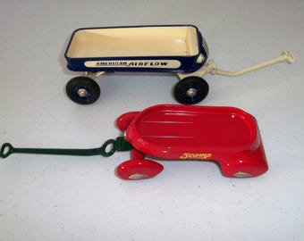 Hallmark Kiddie Car Classics Airflow Coaster & Scamp Wagon