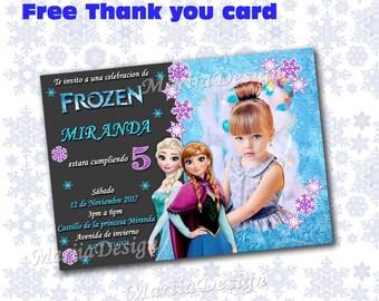 Frozen Invitation Frozen Birthday Invitation Frozen Fever