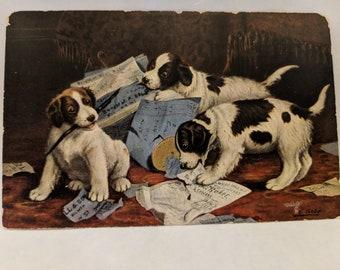 Postcard by artist B. Cobb