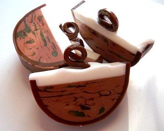 Chai Tea Soap/ Glycerin Soap/ Chai Tea/ Homemade Soap/ Vegan Soap/Natural Soap/Unique soap