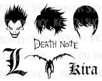 Death Note Vinyl Decal Sticker