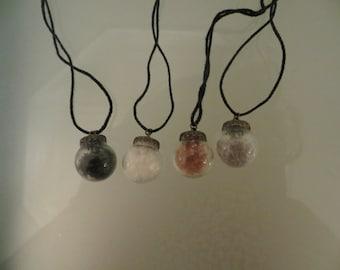 Molokai Hawaiian Sea Salt Necklaces - Handmade