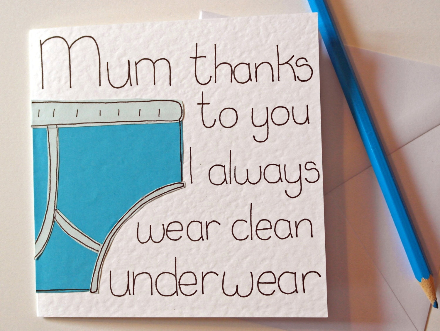 Mothers Day Card Mum Funny Birthday Card For Mom Greeting
