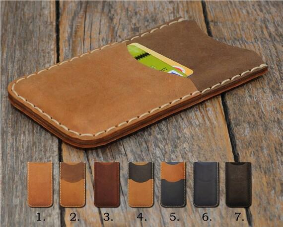 ZTE Blade X Max XL 3 Prestige 2 V8 Pro Grand 4 Avid Trio Tempo Fanfare 2 Warp 7 Axon mini Case Cover Leather Wallet Sleeve Custom Sizes