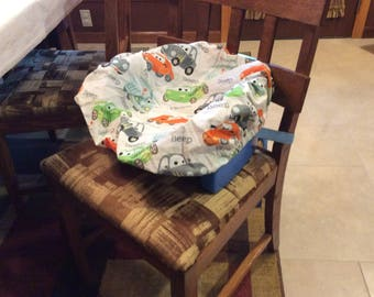 Booster Seat Cover, Speed Racers