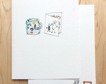 Sweet DIY Father's Day Card