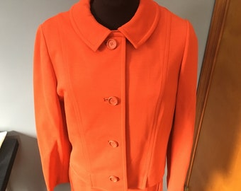 Vintage 1960s Knit Dress with Matching Jacket